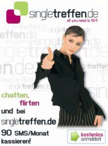 Frau sucht Mann auf singletreffen.de